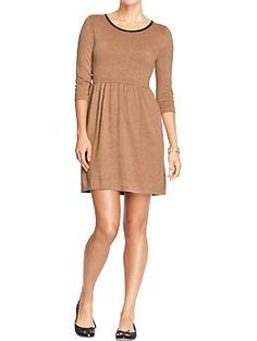 This is a good basic dress that can be styled in a million different ways for winter. The price is also right.