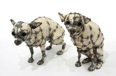 Hannah Kidd Sculpture- Chihuahuas (Reuben and Toby)