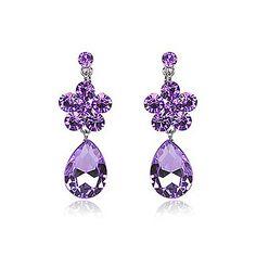 Fabulous Alloy With Rhinestone Women's Earrings(More Colors) – USD $ 14.39