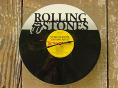 Repurposed recycled Vinyl Record  Rolling Stones LED by ReSpinIt, $70.00