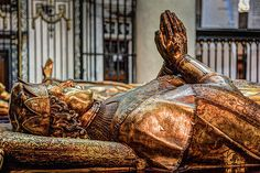 Mausoleums of Mary of Burgundy and Charles the Bold at Church of Our Lady (Onze-Lieve-Vrouwekerk) Bruges Belgium