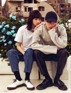 Is G-Dragon dating Japanese model Nana Komatsu? Fashion Couple, Look Fashion, Korean Fashion, Couple Posing, Couple Shoot, Moda G Dragon, Nana Komatsu Fashion, Komatsu Nana, Nana Komatsu G Dragon