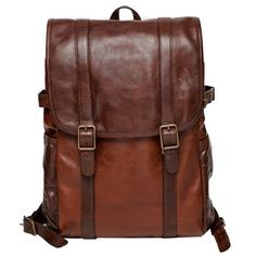 The Crews leather backpack is a fresh take on a time-tested travel companion. It's tastefully tailored exterior exudes laid back luxury while it's interior features offer exceptional organization and versatility. Whether you are headed to the office or embarking on an off-duty adventure, this ruggedly handsome bag is the perfect partner.