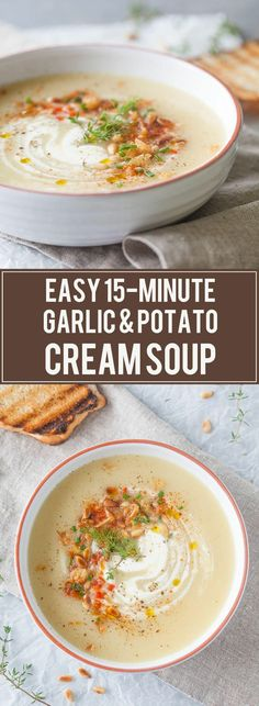 Cold days equal warm bowls of soup! Make a big pot of it and share these delicious soups with the whole family! Creamy Spiced Cauliflower Soup 'm never eating cauliflower in any other form from now on. Only in this exact soup, as it's too good to