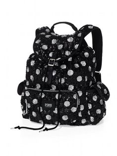 Victoria`s Secret Bling Sequins Backpack School Bag for only $133.30