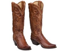 Allens Boots-Women's Lucchese Bootmaker Saratoga Boots #GY4501