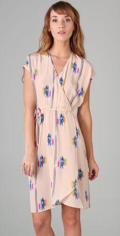 Pretty wrap dress