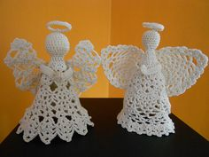 Ravelry: Project Gallery for Praying Angel Ornaments pattern by Constance Thomas
