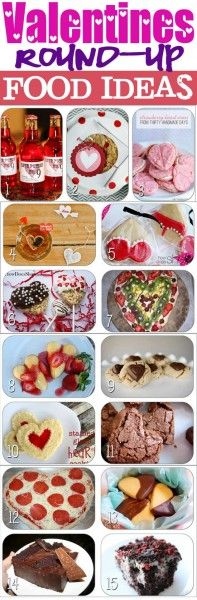 Valentine's Day Round-Up:  There is some neat recipes to do your sweetheart on here.