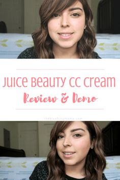 Here is a full on review and demo on Juice Beauty's CC Cream. This is a light weight CC Cream, light to medium coverage. Click on to see what I thought about it. Before and after. No makeup to makeup. #grwm #beforeandafter #motd #beautyblogger