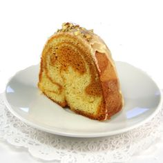 One Perfect Bite: Butterscotch Swirl Cake