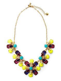 KSNY Kaleidoscope Floral Necklace