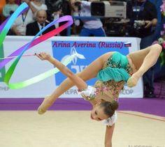 Arina AVERINA (Russia) ~ Ribbon @ GP Moscow 02/2017