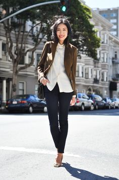 9to5Chic: Army Green