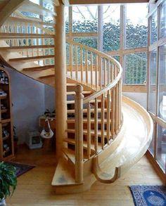 stairs + slide