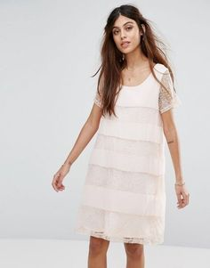 fcba923b9500 Image result for vila vila white cotton dress with lace fluted sleeves Robe