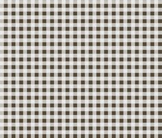 Buffalo Plaid - Brown by Andrea Lauren  fabric by andrea_lauren on Spoonflower - custom fabric