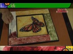 Manos Creativas Vitral sobre Madera.mov - YouTube