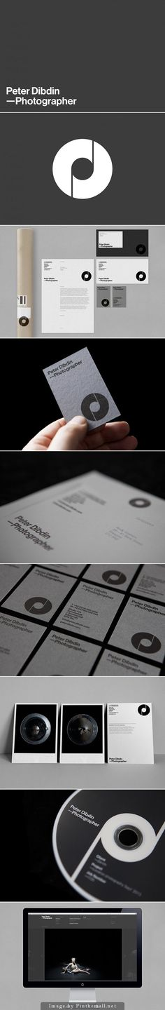 Peter Dibdin personal branding. Design by ostreet - created via http://pinthemall.net: