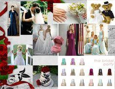 Jamberry Bridal Party Nails! #jamberry #nailart #weddingnails  www.LoveTheNails.com