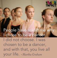 Martha Graham said it best! #passion #dance #dancing #connect #ImpactDanceCentreDubai #Dubai #favorite #love
