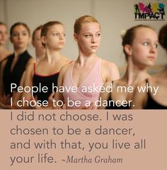 Martha Graham said it best!  #passion #dance #dancing #connect #ImpactDanceCentreDubai #Dubai #favorite #love
