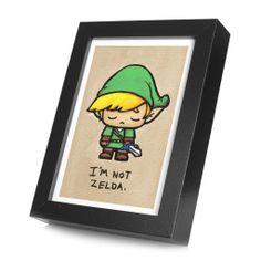 Super Emo Wink Framed Print