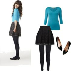Zooey Deschanel style :)  New Girl - I might ...