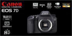 Canon EOS 7D Body Rp.12.560.000.- | Bonus : Exclusive EOS Jacket