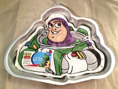 Wilton #Disney #Pixar #BuzzLightyear #CakePan  Stock No. 2105-8080 #Wilton