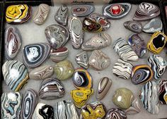 These stunning pieces are made from something that's only found in the heartland from a substance called Fordite, or ''Detroit agate,'' tho...