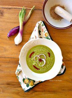 Vellutata cruda di zucchine  | #vegan #vegetarian