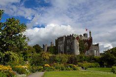 El castillo de Birr, nuestro primer castillo en el viaje a Irlanda