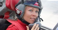 Jessi Combs, Fastest Woman on Four Wheels, Dies While Trying to Break Land Speed Record Jessi Combs, Welding Jackets, Welding Gear, Female Race Car Driver, Car And Driver, Falken Tires, Female Pilot, Race Cars, Riding Helmets