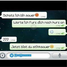 Lustige WhatsApp Bilder und Chat Fails 81 - Stinksauer - WitzeMaschine