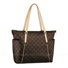 Louis Vuitton-Handbag Totally GM M56690 Brown