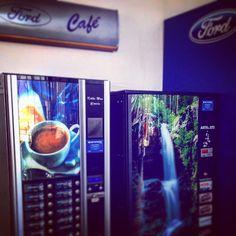 #Pausas #Café #Refrescos Concesionario #Ford