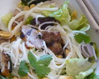 Bún Rice Noodle Salad Bowls - A great way to use leftovers - Viet World Kitchen