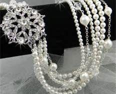 chunky jewelry wedding - Bing Images