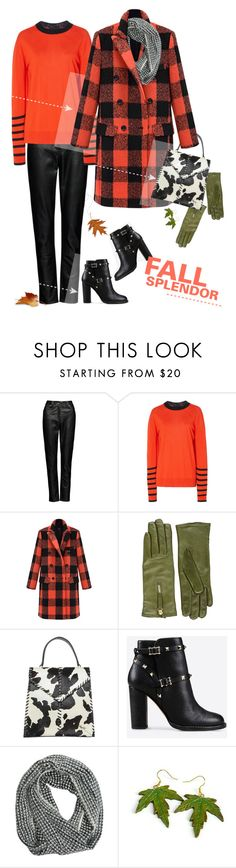 """""""Coral / Olive / Black."""" by s-elle ❤ liked on Polyvore featuring Magda Butrym, Sonia Rykiel, Want Les Essentiels de la Vie, Donald J Pliner, Valentino, Billabong, contest and contestentry"""