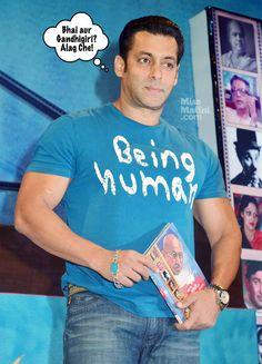 Salman Khan Does Some Gandhigiri. Bollywood Gossip, Bollywood Stars, Pakistani Girl, Shahrukh Khan, Good People, Big Big, True Blood, Actors, Celebrities
