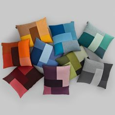 Decospot | Bedroom | Normann Copenhagen Brick Pillows. Available at decospot.be webshop.