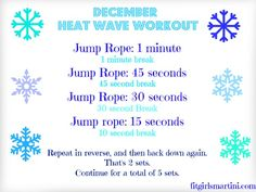 Bring the Summer back with this sweaty Jump Rope Workout! FIT with Jenna DeCicco