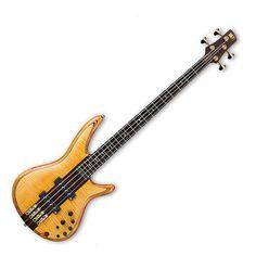 Ibanez SR1400T-VNF Premium 4 String Bass Guitar, Vintage Natural Flat at Gear4Music.com