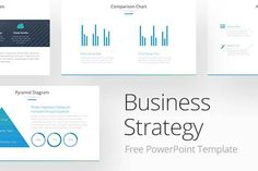 Business Strategy Free PowerPoint Template via @louistwelve