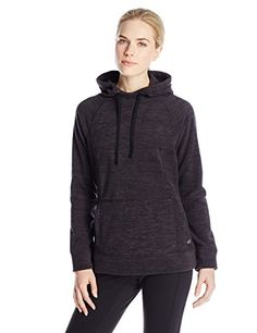Spalding Womens Heathered Fleece Hoodie Pull-Over *** Click image for more details. (This is an affiliate link)