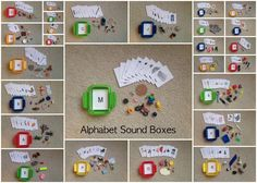 These are absolutely our favorite phonetic letter learning tool. Whenthe kids may not be interested in other activities, they are always eager to handle the items in these boxes.We uses these for…