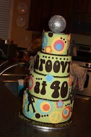 Groovy at ! Theres an idea - a Themed bday party for me . Roller Skating anyone? We can just do 50 70th Birthday Cake, 70th Birthday Parties, Birthday Cupcakes, Birthday Ideas, Themed Parties, Disco Cake, Disco Party, Disco Theme, Hippie Cake