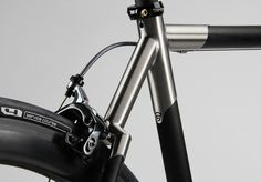 Firefly Ti-Carbon Monostay Rear by fireflybicycles, via Flickr