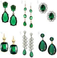 Emerald Green Earrings, Wedding Jewelry that Kambria may like. Emerald Green Earrings, Emerald Jewelry, Diamond Earrings, Stud Earrings, Emerald Green Weddings, Wedding Earrings, Wedding Accessories, Wedding Jewelry, Marie